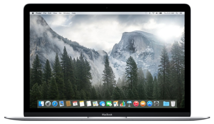 Apple Ноутбук Apple MacBook Early 2015