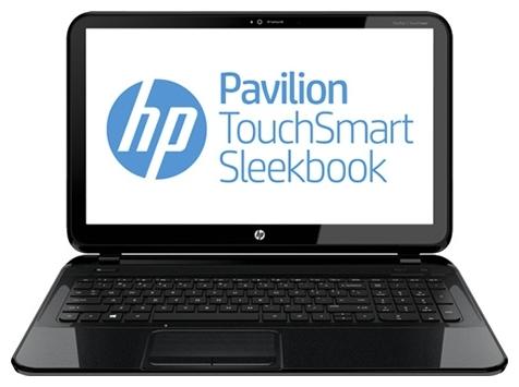 HP PAVILION TouchSmart Sleekbook 15-b100