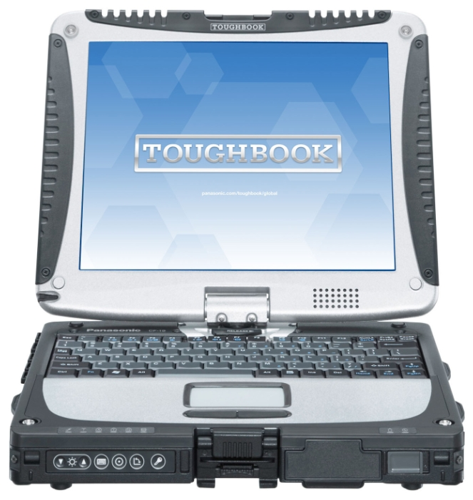 "Panasonic Ноутбук Panasonic TOUGHBOOK CF-19 10.4"" (Core i5 2520M 2500 Mhz/10.4""/1024x768/2048Mb/320Gb/DVD нет/Wi-Fi/Bluetooth/Win 7 Prof)"