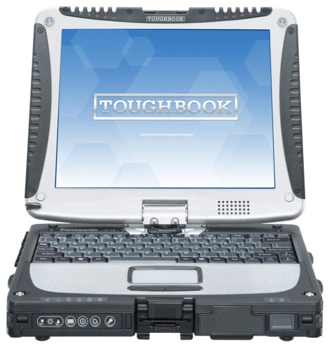 """Panasonic Ноутбук Panasonic TOUGHBOOK CF-19 10.4"""" (Core i5 2520M 2500 Mhz/10.4""""/1024x768/2048Mb/320Gb/DVD нет/Wi-Fi/Bluetooth/Win 7 Prof)"""