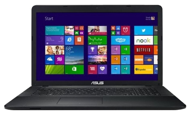 """ASUS Ноутбук ASUS R752MA (Celeron N2830 2160 Mhz/17.3""""/1600x900/4.0Gb/500Gb/DVD-RW/Intel GMA HD/Wi-Fi/Bluetooth/DOS)"""