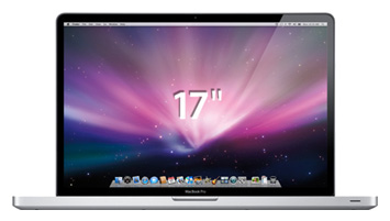 """Apple MacBook Pro 17 Mid 2009 MC227 (Core 2 Duo 2800 Mhz/17.0""""/1920x1200/4096Mb/500.0Gb/DVD-RW/Wi-Fi/Bluetooth/MacOS X)"""