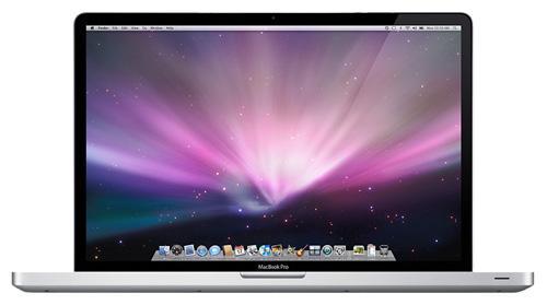 """Apple MacBook Pro 17 Mid 2009 MC226 (Core 2 Duo 2800 Mhz/17.0""""/1920x1200/4096Mb/500.0Gb/DVD-RW/Wi-Fi/Bluetooth/MacOS X)"""