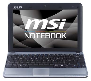 MSI Ноутбук MSI Wind U115 Hybrid
