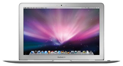 "Apple MacBook Air Late 2008 MB543 (Core 2 Duo 1600 Mhz/13.3""/1280x800/2048Mb/120.0Gb/DVD нет/Wi-Fi/Bluetooth/MacOS X)"