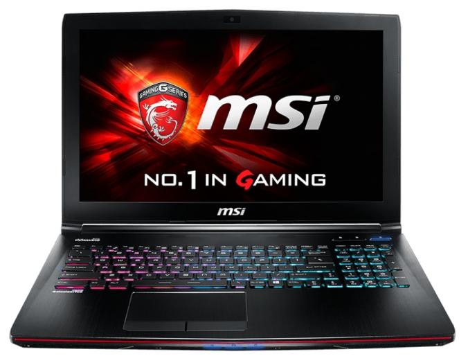 "MSI Ноутбук MSI GE62 2QF Apache Pro (Core i7 5700HQ 2700 MHz/15.6""/1920x1080/8Gb/1000Gb/DVD-RW/NVIDIA GeForce GTX 970M/Wi-Fi/Bluetooth/Win 8 64)"