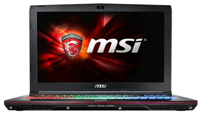 MSI Ноутбук MSI GE62 6QF Apache Pro