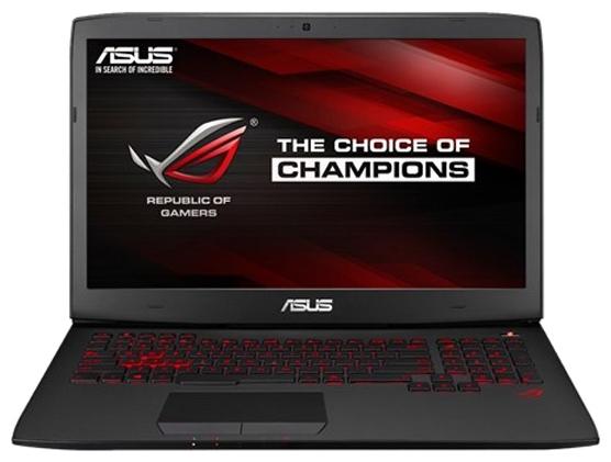 """ASUS Ноутбук ASUS ROG G751JL (Core i7 4750HQ 2000 MHz/17.3""""/1920x1080/8.0Gb/1128Gb HDD+SSD/DVD-RW/NVIDIA GeForce GTX 965M/Wi-Fi/Bluetooth/Win 10 Home)"""