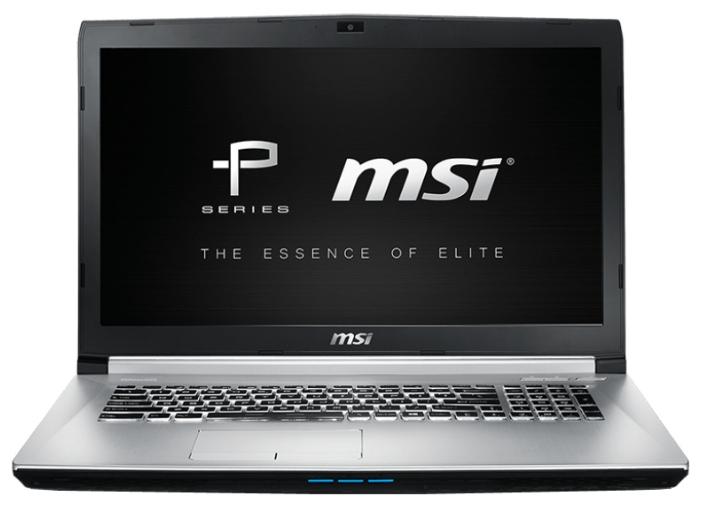 "MSI Ноутбук MSI PE70 6QE (Core i7 6700HQ 2600 MHz/17.3""/1920x1080/8Gb/1000Gb/DVD-RW/NVIDIA GeForce GTX 960M/Wi-Fi/Bluetooth/DOS)"