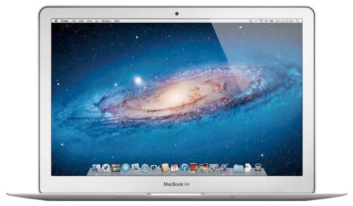 "Apple MacBook Air 11 Mid 2012 Z0NA0005R (Core i5 1700 Mhz/11.6""/1366x768/8192Mb/64Gb/DVD нет/Wi-Fi/Bluetooth/MacOS X)"