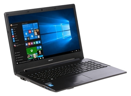"DEXP Ноутбук DEXP Aquilon O165 (Intel Pentium N3700 1600 MHz/15.6""/1366x768/4.0Gb/500Gb/DVD-RW/Intel GMA HD/Wi-Fi/Bluetooth/Win 10 Home)"