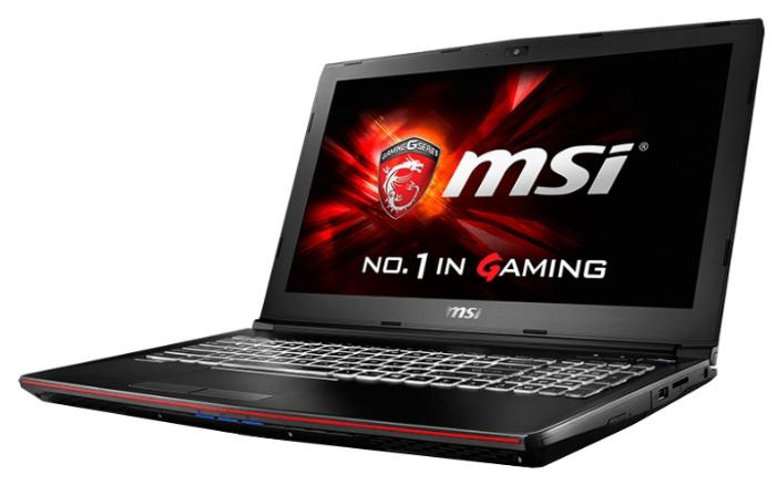 """MSI Ноутбук MSI GP62 6QF Leopard Pro (Intel Core i7 6700HQ 2600 MHz/15.6""""/1920x1080/8Gb/1000Gb/DVD-RW/NVIDIA GeForce GTX 960M/Wi-Fi/Bluetooth/Win 10 Home)"""