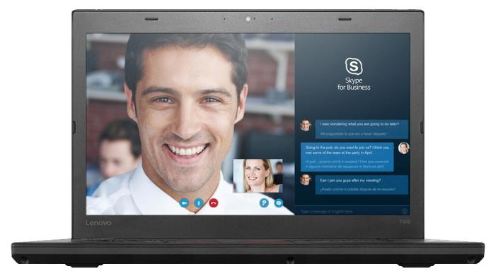 """Lenovo THINKPAD T460 Ultrabook (Intel Core i3 6100U 2300 MHz/14.0""""/1366x768/4.0Gb/500Gb/DVD нет/Intel HD Graphics 520/Wi-Fi/Bluetooth/Win 10 Home)"""