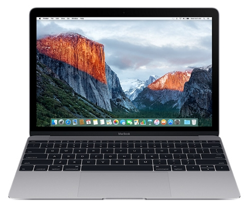 "Apple Ноутбук Apple MacBook Early 2016 (Intel Core m3 1100 MHz/12.0""/2304x1440/8.0Gb/256Gb SSD/DVD нет/Intel HD Graphics 515/Wi-Fi/Bluetooth/MacOS X)"