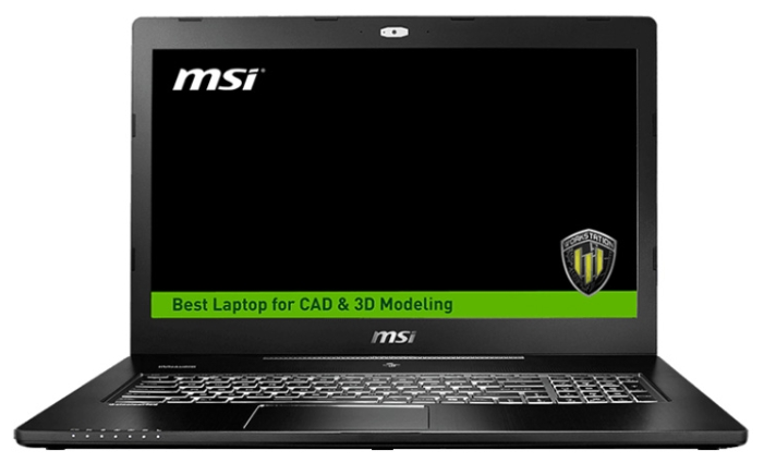 "MSI Ноутбук MSI WS72 6QH (Intel Core i5 6300HQ 2300 MHz/17.3""/1920x1080/8.0Gb/1000Gb/DVD нет/NVIDIA Quadro M600M/Wi-Fi/Bluetooth/Win 10 Pro)"