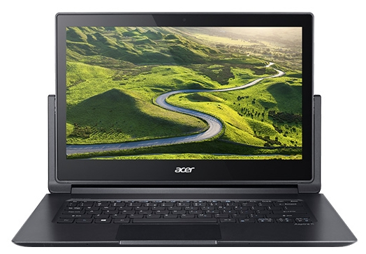 "Acer Ноутбук Acer ASPIRE R7-372T-553E (Intel Core i5 6200U 2300 MHz/13.3""/1920x1080/8.0Gb/128Gb SSD/DVD нет/Intel HD Graphics 520/Wi-Fi/Bluetooth/Win 10 Home)"