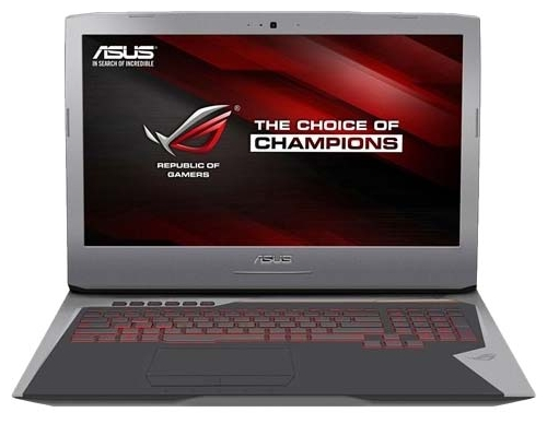 "ASUS Ноутбук ASUS (Intel Core i7 6700HQ 2600 MHz/17.3""/1920x1080/24Gb/1256Gb HDD+SSD/DVD-RW/NVIDIA GeForce GTX 1060/Wi-Fi/Bluetooth/Win 10 Home)"
