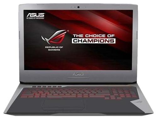 "ASUS Ноутбук ASUS (Intel Core i7 6700HQ 2600 MHz/17.3""/1920x1080/16Gb/1256Gb HDD+SSD/DVD-RW/NVIDIA GeForce GTX 1060/Wi-Fi/Bluetooth/Win 10 Home)"