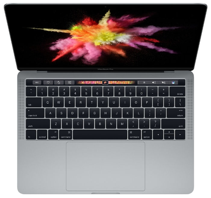 "Apple Ноутбук Apple MacBook Pro 13 with Retina display and Touch Bar Late 2016 (Intel Core i5 2900 MHz/13.3""/2560x1600/8Gb/256Gb SSD/DVD нет/Intel Iris Graphics 550/Wi-Fi/Bluetooth/MacOS X)"