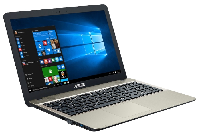 "ASUS Ноутбук ASUS VivoBook Max X541SA (Intel Pentium N3710/15.6""/1366x768/4Gb/500Gb HDD/DVD-RW/Intel HD Graphics 405/Wi-Fi/Bluetooth/Win 10 Home)"