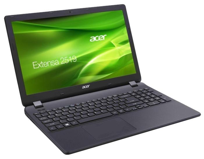 "Acer Ноутбук Acer Extensa EX2519-C08K (Intel Celeron N3060 1600 MHz/15.6""/1366x768/2Gb/500Gb HDD/DVD-RW/Intel HD Graphics 400/Wi-Fi/Bluetooth/Linux)"