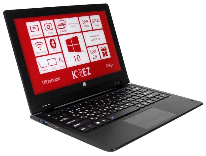 KREZ Ноутбук KREZ Ninja TM1102B32