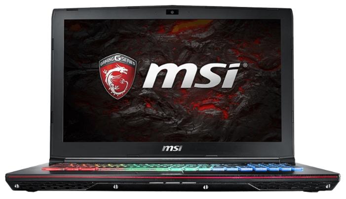 MSI Ноутбук MSI GE62 7RE Apache Pro