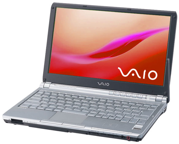 Sony Ноутбук Sony VAIO VGN-TX3XRP
