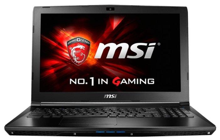 "MSI Ноутбук MSI GL62 6QE (Intel Core i5 6300HQ 2300 MHz/15.6""/1920x1080/8Gb/1000Gb HDD/DVD-RW/NVIDIA GeForce GTX 950M/Wi-Fi/Bluetooth/DOS)"