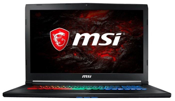 "MSI Ноутбук MSI GP72MVR 7RFX LEOPARD PRO (Intel Core i7 7700HQ 2800 MHz/17.3""/1920x1080/16Gb/1000Gb HDD/DVD нет/NVIDIA GeForce GTX 1060/Wi-Fi/Bluetooth/DOS)"
