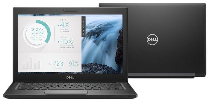 """DELL Ноутбук DELL LATITUDE 7280 (Intel Core i5 6200U 2300 MHz/12.5""""/1920x1080/8Gb/512Gb SSD/DVD нет/Intel GMA HD/Wi-Fi/Bluetooth/Windows 10 Pro)"""