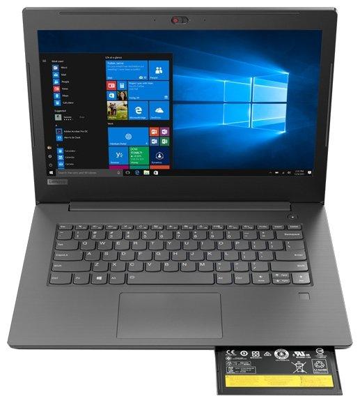 "Lenovo Ноутбук Lenovo V330 14 (Intel Core i5 7200U 2500 MHz/14""/1920x1080/4Gb/500Gb HDD/DVD нет/Intel HD Graphics 620/Wi-Fi/Bluetooth/Windows 10 Pro)"