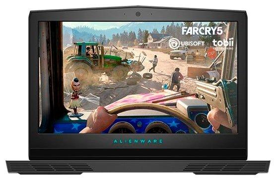 "Alienware Ноутбук Alienware 17 R5 (Intel Core i7 8750H 2200 MHz/17.3""/1920x1080/8GB/1256GB HDD+SSD/DVD нет/NVIDIA GeForce GTX 1060/Wi-Fi/Bluetooth/Windows 10 Home)"