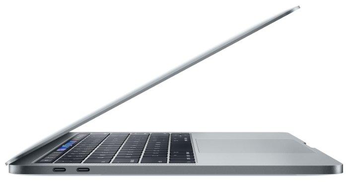 "Apple Ноутбук Apple MacBook Pro 13 with Retina display and Touch Bar Mid 2018 (Intel Core i5 2300 MHz/13.3""/2560x1600/8GB/512GB SSD/DVD нет/Intel Iris Plus Graphics 655/Wi-Fi/Bluetooth/macOS)"