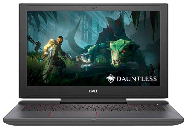 "DELL Ноутбук DELL G5 15 5587 (Intel Core i7 8750H 2200 MHz/15.6""/1920x1080/8GB/1128GB HDD+SSD/DVD нет/NVIDIA GeForce GTX 1050 Ti/Wi-Fi/Bluetooth/Linux)"