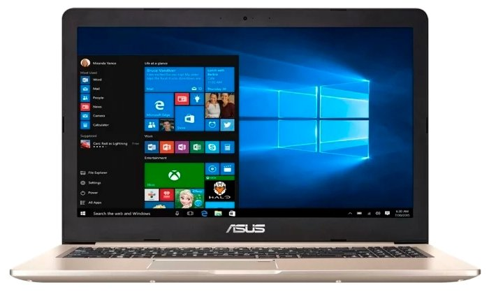 "ASUS Ноутбук ASUS VivoBook Pro 15 N580GD (Intel Core i7 8750H 2200 MHz/15.6""/3840x2160/16GB/1256GB HDD+SSD/DVD нет/NVIDIA GeForce GTX 1050/Wi-Fi/Bluetooth/Windows 10 Pro)"