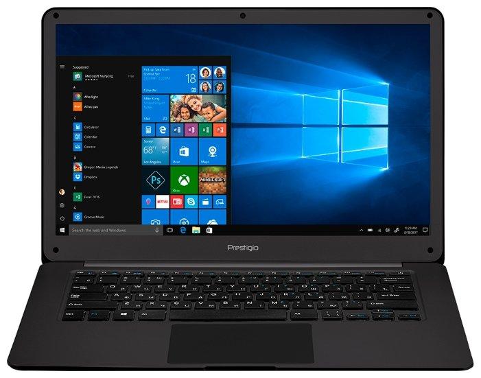 "Prestigio Ноутбук Prestigio Smartbook 141 C2 (Intel Celeron N3350 1100 MHz/14.1""/1920x1080/3GB/32GB SSD/DVD нет/Intel HD Graphics 500/Wi-Fi/Bluetooth/Windows 10 Home)"
