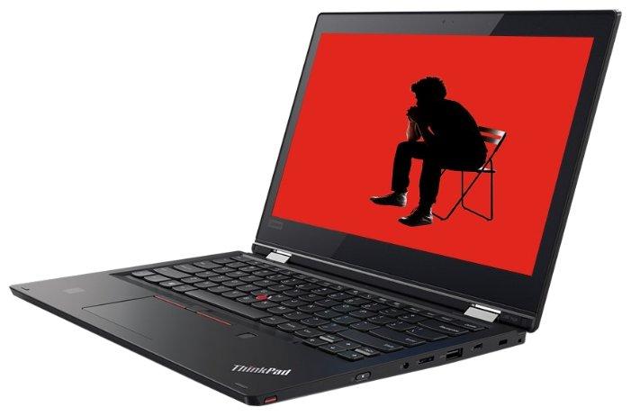 "Lenovo Ноутбук Lenovo ThinkPad L380 Yoga (Intel Core i3 8130U 2200 MHz/13.3""/1920x1080/4GB/256GB SSD/DVD нет/Intel UHD Graphics 620/Wi-Fi/Bluetooth/Windows 10 Pro)"