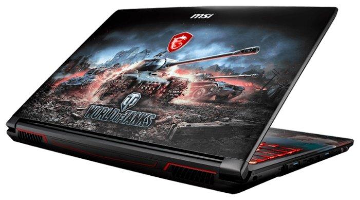"""MSI Ноутбук MSI GP62 8RD WOT Edition (Intel Core i7 8750H 2200 MHz/15.6""""/1920x1080/16GB/1000GB HDD/DVD нет/NVIDIA GeForce GTX 1050 Ti/Wi-Fi/Bluetooth/Windows 10 Home)"""