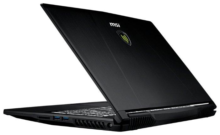 "MSI Ноутбук MSI WE63 8SJ (Intel Core i7 8750H 2200 MHz/15.6""/1920x1080/16GB/1128GB HDD+SSD/DVD нет/NVIDIA Quadro P2000/Wi-Fi/Bluetooth/Windows 10 Pro)"