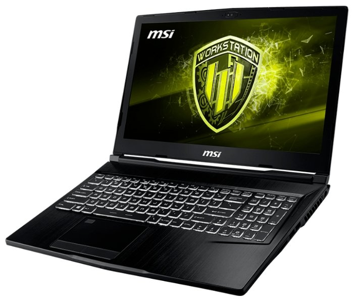 "MSI Ноутбук MSI WE63 8SJ (Intel Core i7 8750H 2200 MHz/15.6""/1920x1080/16GB/1256GB HDD+SSD/DVD нет/NVIDIA Quadro P2000/Wi-Fi/Bluetooth/Windows 10 Pro)"