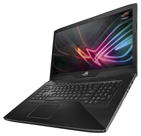"ASUS Ноутбук ASUS ROG Strix GL703VD (Intel Core i5 7300HQ 2500 MHz/17.3""/1920x1080/16GB/1000GB HDD/DVD нет/NVIDIA GeForce GTX 1050/Wi-Fi/Bluetooth/Без ОС)"