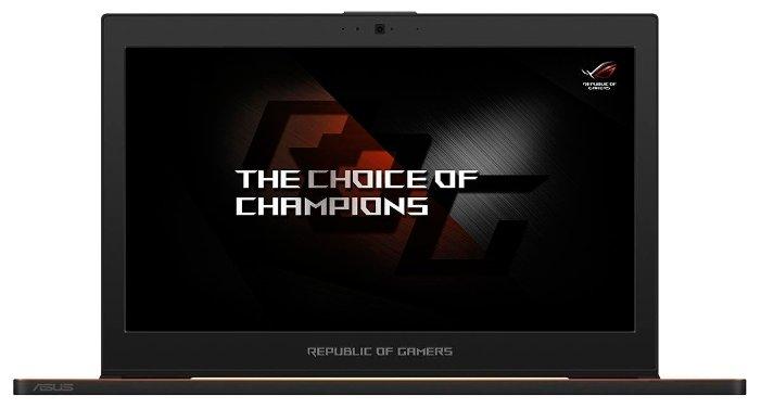 "ASUS Ноутбук ASUS ROG Zephyrus GX501GI (Intel Core i7 8750H 2200 MHz/15.6""/1920x1080/16GB/1024GB SSD/DVD нет/NVIDIA GeForce GTX 1080/Wi-Fi/Bluetooth/Windows 10 Home)"
