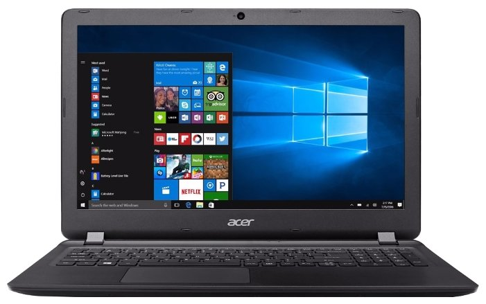 "Acer Ноутбук Acer Extensa EX2540-366Y (Intel Core i3 6006U 2000 MHz/15.6""/1366x768/4Gb/128Gb SSD/DVD нет/Intel HD Graphics 520/Wi-Fi/Bluetooth/Windows 10 Home)"