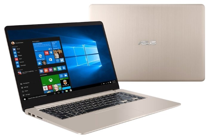 "ASUS Ноутбук ASUS VivoBook S15 S510UN (Intel Core i3 7100U 2400 MHz/15.6""/1920x1080/6Gb/1000Gb HDD/DVD нет/NVIDIA GeForce MX150/Wi-Fi/Bluetooth/Windows 10 Home)"