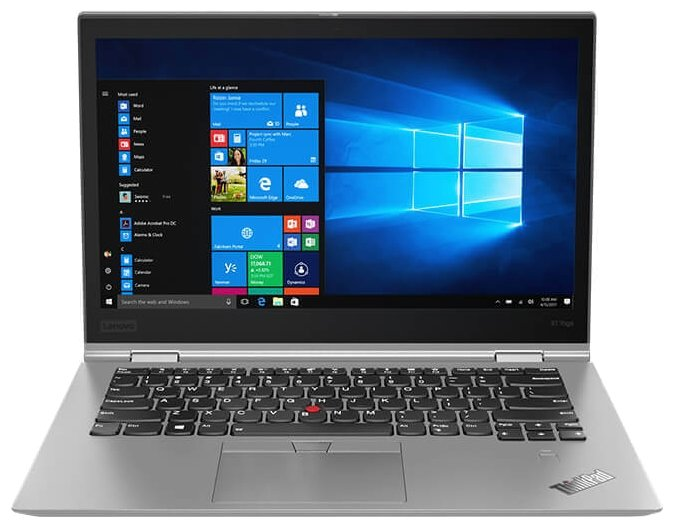 "Lenovo Ноутбук Lenovo ThinkPad X1 Yoga (3rd Gen) (Intel Core i5 8250U 1600 MHz/14""/2560x1440/8Gb/256Gb SSD/DVD нет/Intel UHD Graphics 620/Wi-Fi/Bluetooth/LTE/Windows 10 Pro)"