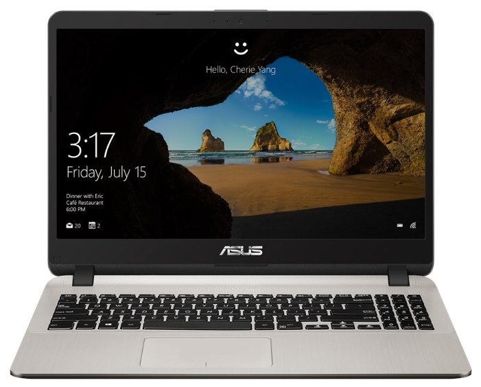 "ASUS Ноутбук ASUS X507UA (Intel Core i5 7200U 2500 MHz/15.6""/1920x1080/8Gb/1000Gb HDD/DVD нет/Intel HD Graphics 620/Wi-Fi/Bluetooth/Windows 10 Home)"