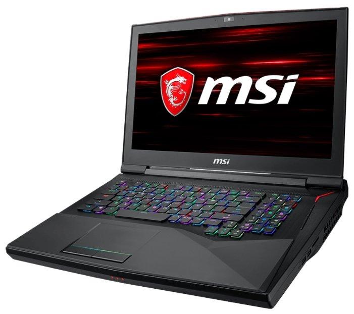 "MSI Ноутбук MSI GT75 8RF Titan (Intel Core i9 8950HK 2900 MHz/17.3""/3840x2160/32Gb/1512Gb HDD+SSD/DVD нет/NVIDIA GeForce GTX 1070/Wi-Fi/Bluetooth/Windows 10 Home)"