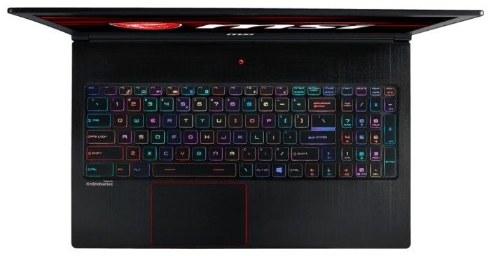 "MSI Ноутбук MSI GS63 8RE Stealth (Intel Core i7 8750H 2200 MHz/15.6""/1920x1080/16Gb/1128Gb HDD+SSD/DVD нет/NVIDIA GeForce GTX 1060/Wi-Fi/Bluetooth/Windows 10 Home)"