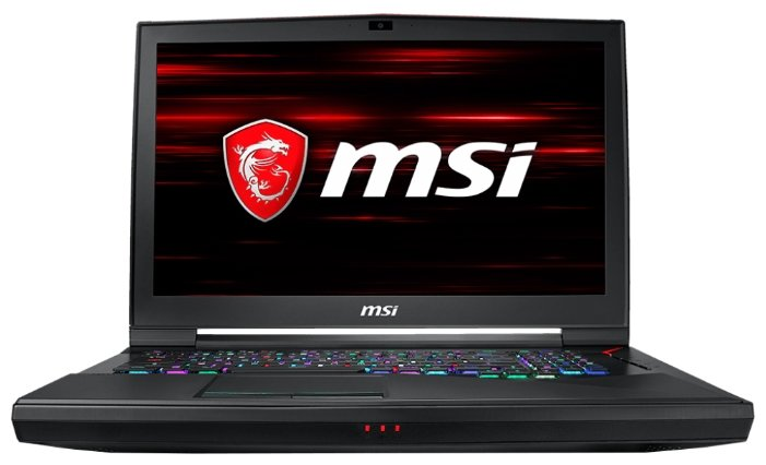 "MSI Ноутбук MSI GT75 8RG Titan (Intel Core i7 8750H 2200 MHz/17.3""/1920x1080/16Gb/1256Gb HDD+SSD/DVD нет/NVIDIA GeForce GTX 1080/Wi-Fi/Bluetooth/Windows 10 Home)"